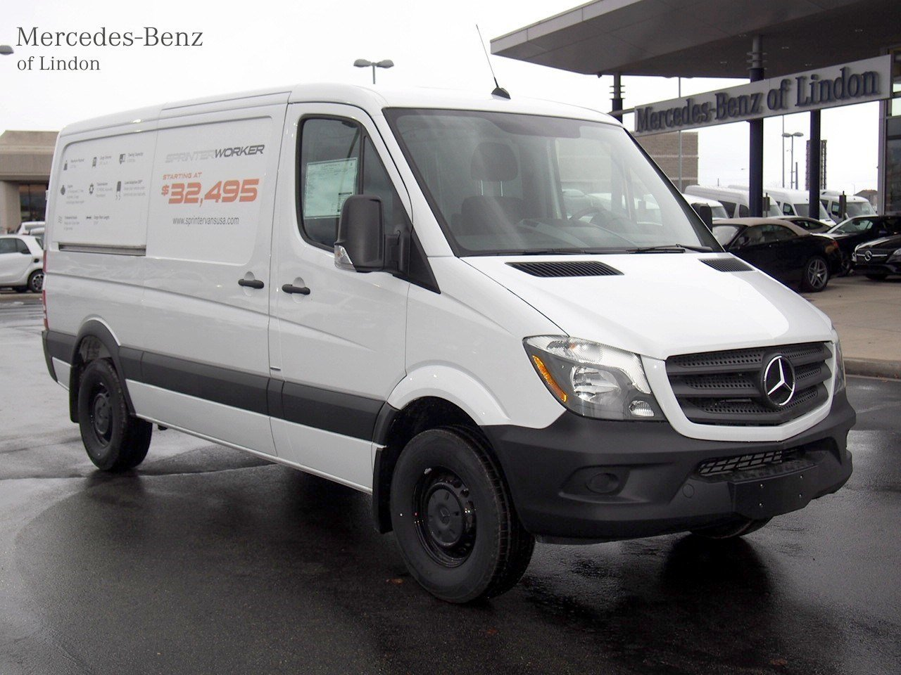 New 2016 mercedes benz sprinter cargo vans worker cargo for New mercedes benz sprinter